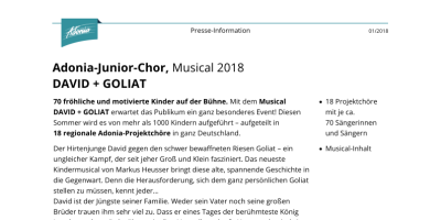 Pressinfo Junior 2018