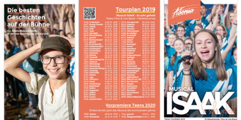 Tourflyer Isaak Herbst